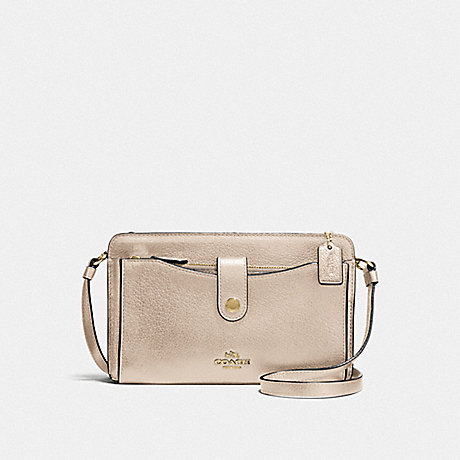 COACH F59958 NOA POP-UP MESSENGER LI/PLATINUM