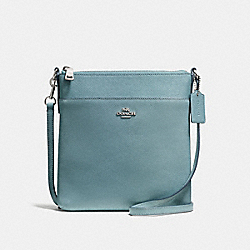COACH F59975 Messenger Crossbody CLOUD/SILVER
