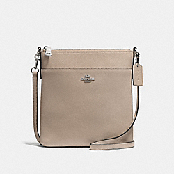 COACH F59975 Messenger Crossbody STONE/SILVER
