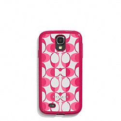 COACH F60475 Peyton Dream C Molded Galaxy S4 Case