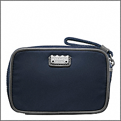 COACH F60907 Canvas Compact Travel Case