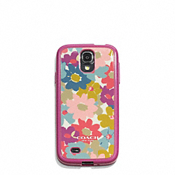 COACH F61180 Peyton Floral Molded Galaxy S4 Case