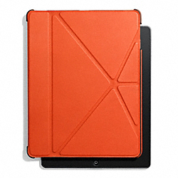 COACH F61193 Bleecker Leather Origami Ipad 5 Case SAMBA