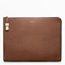 COACH F61230 Crosby Leather Portfolio