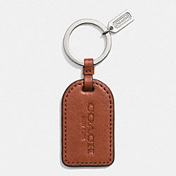 SAFFIANO LEATHER TAG KEY RING - f61506 - SVCKM