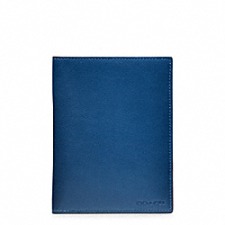 COACH F61754 - BLEECKER LEGACY PASSPORT CASE  VINTAGE ROYAL