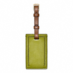 COACH F61921 Bleecker Small Luggage Tag