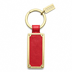 COACH F61927 - BLEECKER ID KEY RING ONE-COLOR
