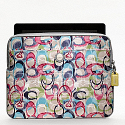 COACH F61963 - POPPY IKAT UNIVERSAL SLEEVE ONE-COLOR
