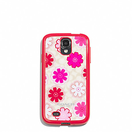 COACH f62193 FLORAL MOLDED GALAXY S4 CASE