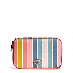COACH F62239 Peyton Multistripe Jewelry Box