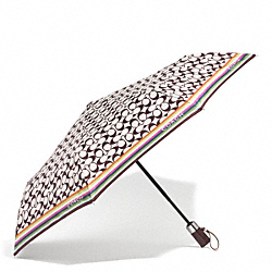 COACH F62339 Signature Umbrella
