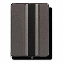 COACH F62353 Heritage Sport Ipad Case SLATE/BLACK