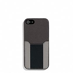 COACH F62357 Heritage Sport Iphone Case SLATE/BLACK
