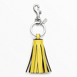 COACH F62376 Tassel Key Ring