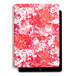 COACH F62459 Peyton Floral Print Trifold Ipad Air Case PINK MULTICOLOR