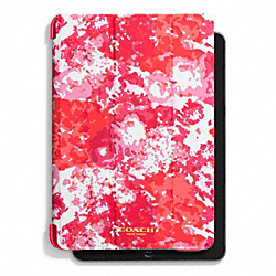 COACH F62460 Peyton Floral Print Trifold Ipad Mini Case PINK MULTICOLOR