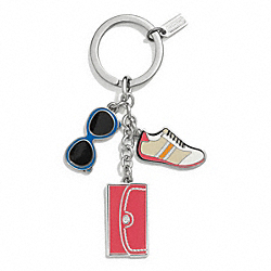 COACH F62509 - MULTI MIX KEY RING ONE-COLOR