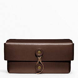 COACH BLEECKER LEATHER SMALL BOX - ONE COLOR - F62647