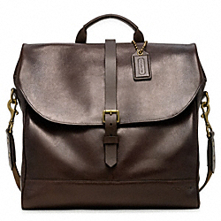 COACH F62661 Bleecker Leather Pannier Bag