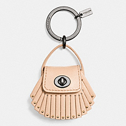 COACH F63352 Dakotah Bag Key Ring BQAPR