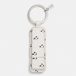 COACH F63405 Floral Print 8gb Usb Key Ring SVDRL