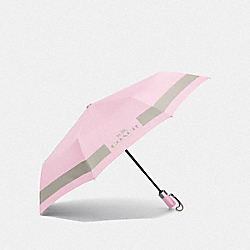 COACH F63689 - HC LOCK UP UMBRELLA SILVER/PETAL/GREY BIRCH