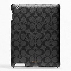 COACH F63775 Bleecker Signature Molded Ipad Case
