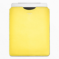 COACH LEATHER IPAD SLIP COVER - ONE COLOR - F63801