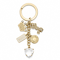 COACH F63841 Queen Mix Multi Key Ring
