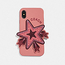 COACH F63886 Iphone X/xs Case With Oversized Star PETAL MULTI