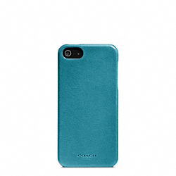 BLEECKER LEATHER MOLDED IPHONE 5 CASE - f64076 - 32256