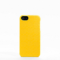 COACH F64218 Heritage Signature Iphone 5 Case YELLOW