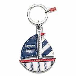 COACH F64522 Saint James Boat Key Ring