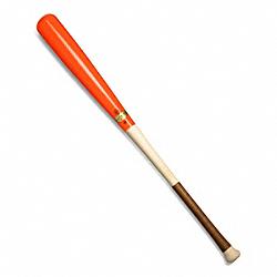 COACH F64596 Heritage Baseball Dip Dye Bat BONFIRE