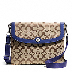 COACH PARK SIGNATURE TABLET CROSSBODY - ONE COLOR - F65360