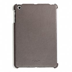 COACH F65416 Bleecker Leather Molded Mini Ipad Case SHARKSKIN