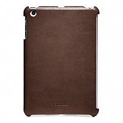 COACH BLEECKER LEATHER MOLDED MINI IPAD CASE - ONE COLOR - F65416