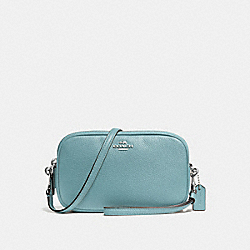 CROSSBODY CLUTCH - f65547 - CLOUD/SILVER