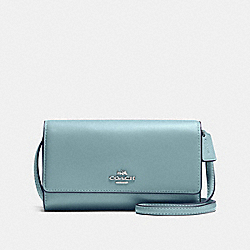 COACH F65558 - PHONE CROSSBODY DK/FATIGUE