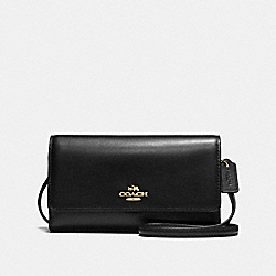 COACH F65558 - PHONE CROSSBODY LI/BLACK
