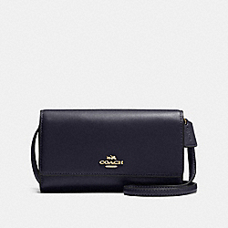 COACH F65558 - PHONE CROSSBODY LI/NAVY