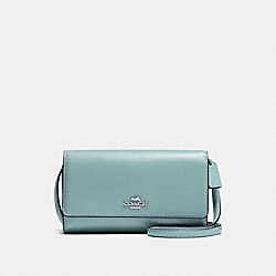 COACH F65558 Phone Crossbody CLOUD/SILVER