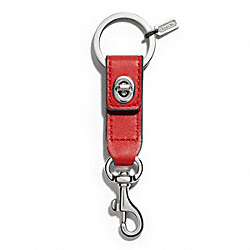 COACH F65816 Turnlock Trigger Snap Key Ring