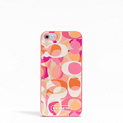 COACH F65896 Daisy Kaleidoscope Print Iphone 5 Case