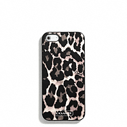 COACH F65903 Park Ocelot Print Iphone 5 Case
