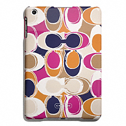 COACH PARK HAND DRAWN SCARF PRINT MOLDED MINI IPAD CASE - ONE COLOR - F65937