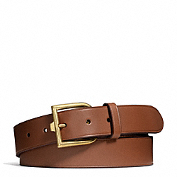 COACH F65961 Philip Crangi Reverse D Buckle Belt SADDLE