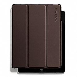 COACH F66018 Camden Leather Molded Ipad Case MAHOGANY