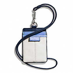 COACH F66109 - DAISY SPECTATOR LEATHER LANYARD ID ONE-COLOR